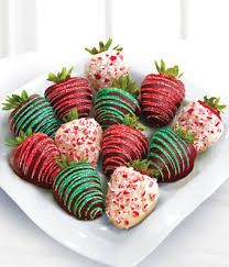 chocolate dip delights jolly holiday chocolate covered strawberries 12 piece at from you flowers