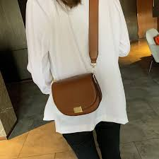 <b>Female Small Saddle Bag</b> Crossbody Bags For Women 2019 Solid ...