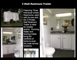 Bathroom Trailer Rental 40 Fascinating Trailer Bathroom Rental