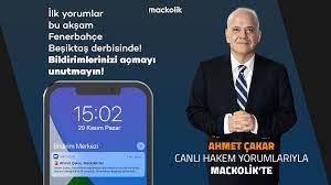 Mackolik - 🤩 Ahmet Çakar, Mackolik'te! Ahmet Çakar, 4...