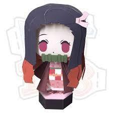 SIÊU RẺ] Mô hình giấy Anime Chibi Nezuko Kamado - Demon Slayer ver 3  (Kimetsu no Yaiba), Giá siêu rẻ 26,000đ! Mua liền tay! - SaleZone Store