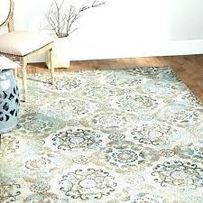 blue brown rug grey machine woven teal silver gray area reviews r blue brown area rug