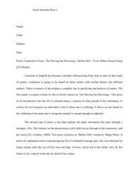 poem explication essay co poem explication essay