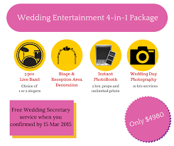 wedding entertainment package dream wedding Wedding Entertainment Singapore contact us here singapore wedding entertainment ideas singapore
