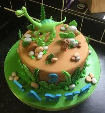 The Good Dinosaur Birthday Cake Birthday Cakes Dinosaurier