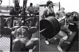 Arnold Gym Workout Chart Arnold Schwarzeneggers Golden Six Bodybuilding Routine