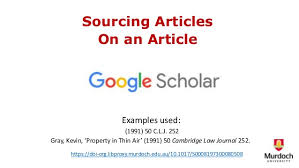 Article Considered In Articles Using Google Scholar
