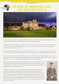 Lord Egerton's Castle | Castle, Lord, Nakuru