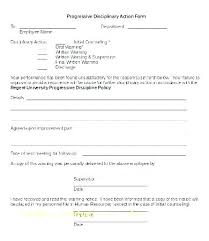 Lovely Employee Write Up Form Disciplinary Action Template