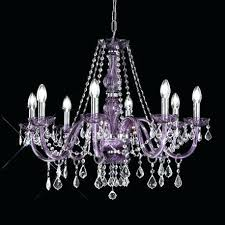 chandeliers purple crystal chandelier lighting glass chandeliers 8 light for rooms with low ceilings
