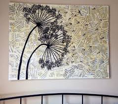 diy wall art projects using newspaper