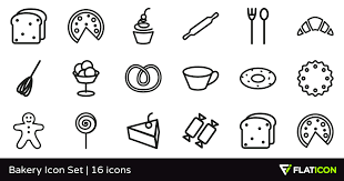 Bakery Icon Set 16 Free Icons Svg Eps Psd Png Files