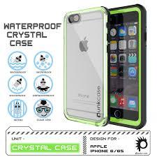Crystal Light Case Punkcase Crystal Light Green Apple Iphone 6s Plus 6 Plus