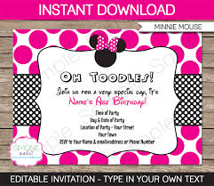 printable minnie mouse invitations my blog minnie party invitations