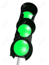 Traffic Light 3 Traffic Light With 3 Green
