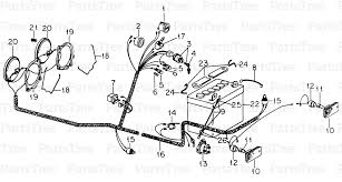 cub cadet 682 electrical wiring s n 720000 up diagram and parts 012345678910