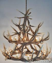 ceiling lights deer antler chandelier deer horn lamps for real antler table lamp