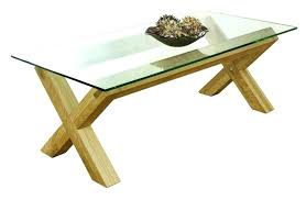 oak coffee table with glass top coffee table extraordinary modern oak and clear glass top with