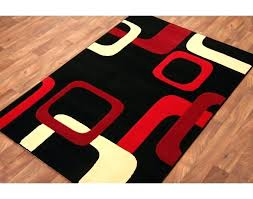 kitchen rug red red and cream rug black and red kitchen rugs red black cream rug