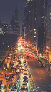 York Street Night Traffic iPhone 8 ...