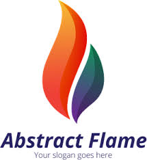 Abstract Flame Logo Vector (.EPS) Free Download