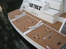 synthetic marine flooring for boat waterproof lightweight