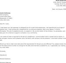 Vet Receptionist Cover Letter Download By Veterinary Receptionist