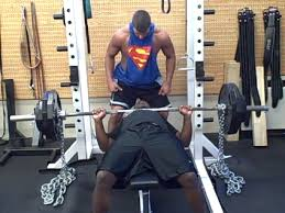 Swole At Every Height Saving Your Bench With The Sling ShotChains Bench Press