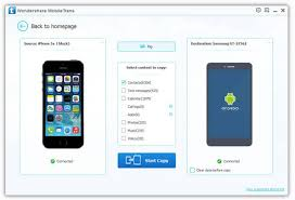 How to Transfer Contacts from iPhone to Android Mobile Transfer