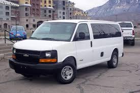 CNG Utah - 2004 Chevrolet Express 2500 12 Passenger Van Bi-Fuel