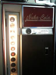 Nuka Cola Vending Machine Beauteous Nuka Cola Vending Machine NukeaLicious Technabob