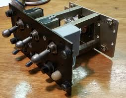 the cas panel is interesting in that it s got a pair of magnetically held toggle switches it s essentially a relay that s designed with a very heavy spring