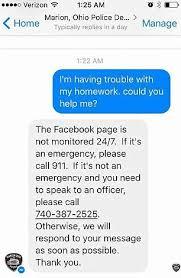 fifth grader asks police for help her math homework molly draper facebook