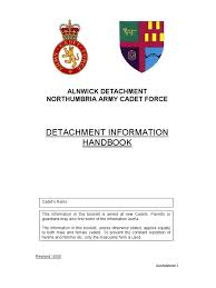 detachment handbook amdmt identity document armed conflict