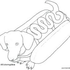 Dachshund Coloring Pages Coloring