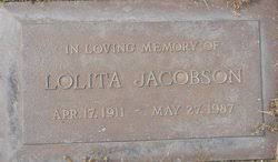 Lolita Clare Hulery Jacobson (1911-1987) - Find A Grave Memorial