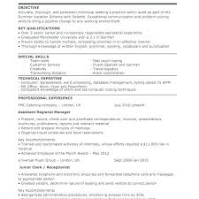 Canada Resume Template Receptionist Sample Resume Medical ...