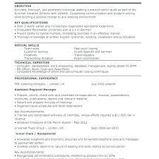 Canada Resume Template Receptionist Sample Resume Medical ...