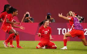 Olympic soccer ...