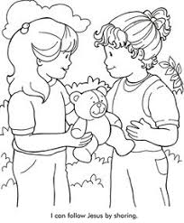 Small Picture Helping others Sunday Schoo Coloring Page FromThru the Bible