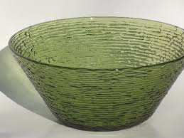 green glass salad bowl. Exellent Green Verde Green Soreno Glass Serving Bowl For Salad Potato Chips Punch Intended Green Glass Salad Bowl 1StopRetroShopcom