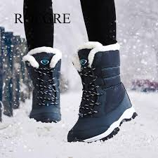 <b>Women boots non slip waterproof</b> winter ankle snow boots women ...