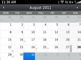 View Calandar How To Change The Default View On The Native Blackberry Calendar App