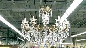 glass prism chandelier luxurious modern