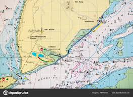 Nautical Charts Netherlands Dutch Nautical Chart For Marine Navigation Of Waddensea