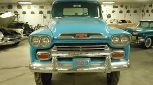 1959 CHEVROLET APACHE 3600 FACTORY INSTALLED NAPCO 4X4 *NO RESERVE ...