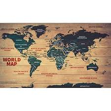 World Wood Map 31