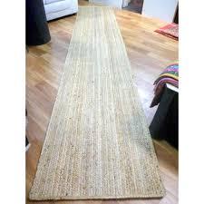 seagrass jute woven natural floor hall runner 4m