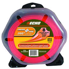 echo weed eater string. echo cross-fire 0.095 nylon trimmer line echo weed eater string