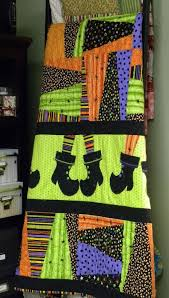 Best 25+ Halloween quilt patterns ideas on Pinterest | Baby quilt ... & Too Cute Halloween quilt with Witches boots made from SU Stocking Die :) Adamdwight.com